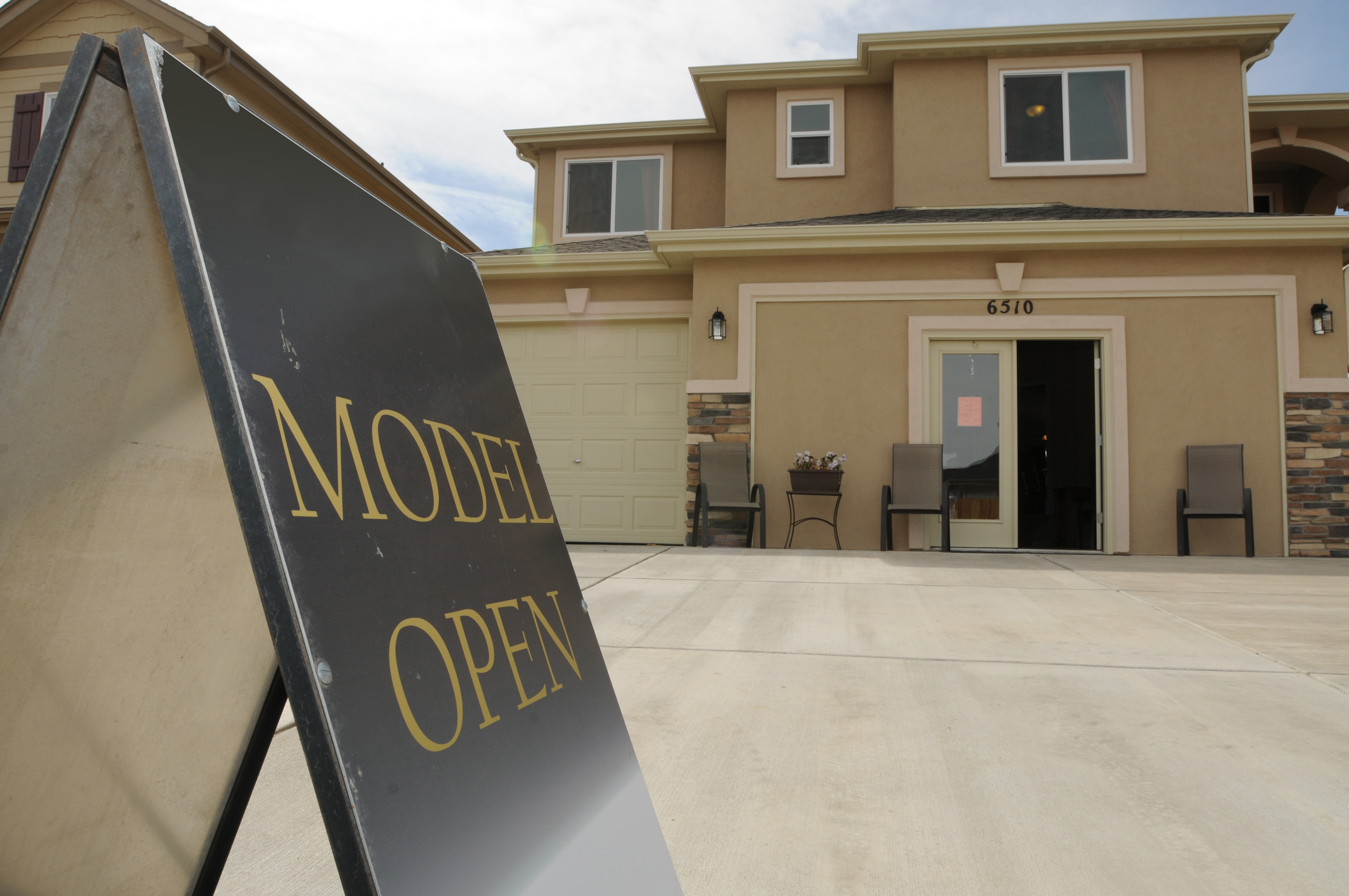 Model Home Opening